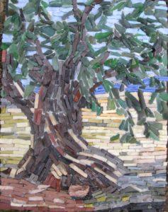 olivier et champ de lavande elem